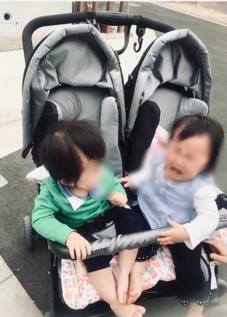 双子ベビーカー